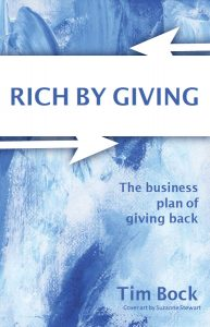 Rich By Giving front book cover